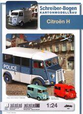 Schreiber-bogen Card Modelling Citroën H