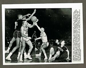 1960 NCAA Basketball 8x10 Wire Photo, Memphis State vs Providence @ Madison #18