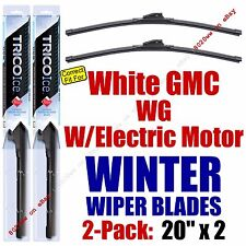 WINTER Wiper Blades 2pk 1990 White GMC WG w/Electric Motor 35200x2