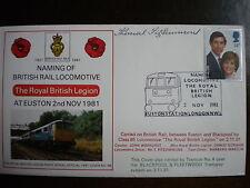 November 1981; Naming of British Rail Locomotive Commemorative Cover;