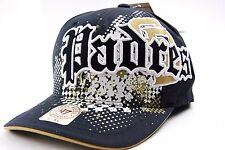 San Diego Padres 47 Brand Amp'd Up MLB Baseball Stretch Fit Cap Hat L/XL