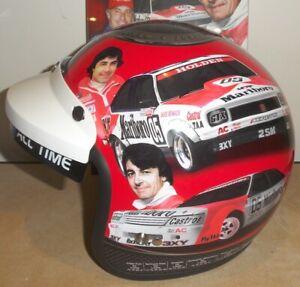 Peter Brock 40th Anniversary 1972 Bathurst Replica Racing Helmet Limited Edition