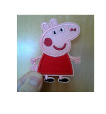 Pig - Farm Animal - Cartoon - Pink - Embroidered Iron On Applique Patch