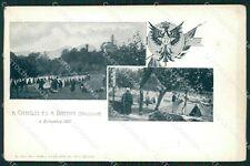 Varese Brenta Militari Valcuvia cartolina QK9813
