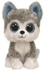 NEW Beanie Boos 6 Inch  - Slush The Dog from Mr Toys