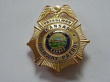 Polizeiabzeichen - Patrolman Kansas Highway Patrol - police badge