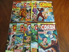 Marvel  CONAN THE BARBARIAN  LOT!!  10 Awesome issues!