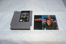 WCW World Championship Wrestling (Nintendo Entertainment System, 1990) Book/Game
