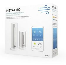 Netatmo Smart Weather Station Indoor Outdoor with Wireless Outdoor Sensor