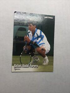 2003 Netpro Glossy Rafael Nadal Signed Auto  Rookie Card RC & Bonus Tennis PSA?