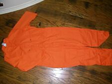 Topps Bright Orange NWT Coveralls Jumpsuit NWT Size 56R Short Sleeve