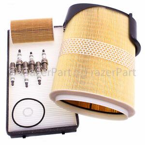 Porsche Boxster Cayman (2005-08) oil air pollen filter service kit & spark plugs