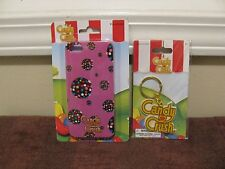 Candy Crush iPhone 5/5s Case & Candy Crush Key Chain ~New Factory-Sealed~