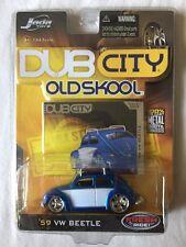 Jada Dub City Old Skool 1959 '59 Volkswagen VW Beetle Blue/White Die-Cast 1/64