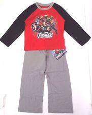 Marvel Avengers Assemble Kids Boys Shirt Pants Sleepwear Pajama 2 Piece Set