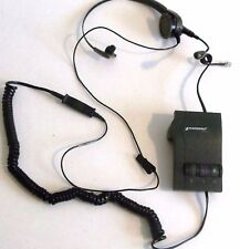Plantronics Corded Headset and M12 Vista Amplifier