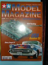 "ANCIEN REVUE ""TAMIYA MODEL MAGAZINE"" N° 60 11/2002 CHEVY COUPE 57 M26 PERSHING"