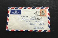 New Zealand Ponsonby To Didcot Berkshire 1958 Air Mail Cover