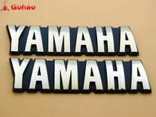 OEM Set of Yamaha FS1 SR125 SR185 XS1100 XV500 XZ550 Fuel Gas Tank Emblem Badges