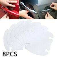 Invisible Clear Car Door Handle Paint Scratch Protector Guard Film Sheet 8pcs