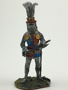 Painted MEDIEVAL KNIGHTS King Henry V Metal Tin Figure 1/32