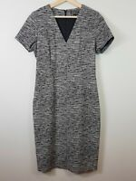 [ COUNTRY ROAD ] Womens Textured V/neck Dress | Size AU 12 or US 8