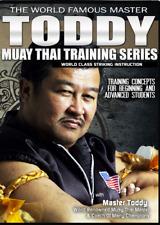 Master Toddy'S Muay Thai Training Series Kickboxing 4 Dvd Set B560