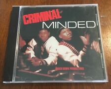 Criminal Minded by KRS-One; Scott La Rock CD Boogie Down Productions Rap Hip Hop