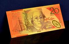 "★★ AUSTRALIE / AUSTRALIA : BILLET POLYMER  "" OR "" DU 20 DOLLARS ★★"