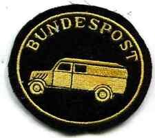 Bundespost:Armabzeichen:Kraftfahrer. Maschinengestickt. 1 Stück