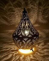 Handmade Moroccan Brass Table Lamp Shades