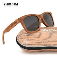 hommes femmes bambou polarisé lunettes de soleil padauk bois lunettes