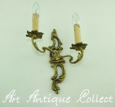Antik Wandlampe Messing French Rococo Antique Brass Wall Light Wandleuchte Led