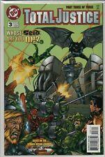 TOTAL JUSTICE #1-3 DC BATMAN GREEN LANTERN 1996 NM   C1.995
