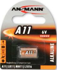 2 x Ansmann A11 6V Alkaline Battery CA21 CX21A E11A G11A GP11A L1016 MN11 WE11A