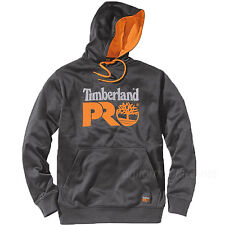 Timberland PRO Sweatshirt Mens Logo Hooded Fleece Pullover Hoodie A126S Sweater