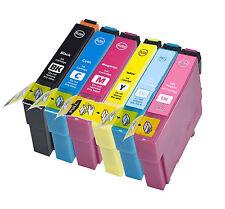 6 compatibile E807 confezione multipack di cartucce di stampa a getto d'inchiostro, per no, T0807 TO807