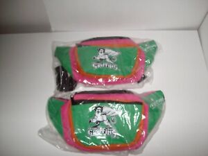 AHL AFFILIATE OF DETROIT RED WINGS (2) GRAND RAPIDS GRIFFINS FANNYPACKS