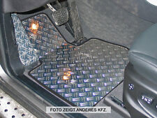 BMW X5 Typ E70/X70 Alu Fußmatten Set 5-tlg. DG-S