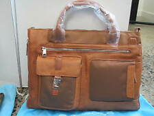 Piquadro Frame Light tan Ladies Expandable Briefcase/Office bag CA1618FR/CU
