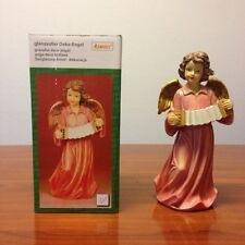 Engel Spielend aus Steinharz fein modelliert und Handbemalt, 23 cm