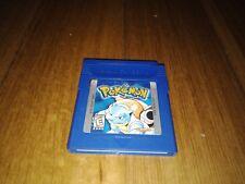 Nintendo Gameboy Pokemon Blue game version Edition