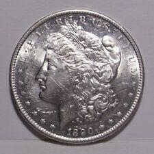 1890 S Morgan Silver Dollar , Average BU
