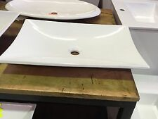 Ex-Display Sample Above Counter Basin 600 x 400mm White Ceramic