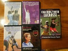 Coaching Girls Lacrosse 4 Cd's (video) and 1 book