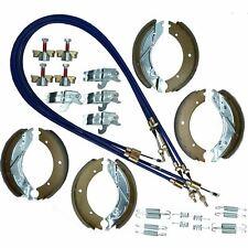 Brake Shoe & Cable Refurb Kit for Ifor Williams Flatbed Trailer Lm186 3500kg