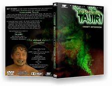 Tajiri Shoot Interview DVD, WWE Yoshiro ECW CZW Wrestling Japanese AJPW NJPW