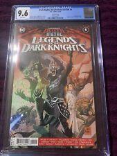 DC Comics Dark Nights Death Metal Legends Of The Dark Knight #1 CGC 9.6