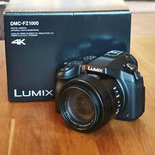 Panasonic Lumix DMC-FZ1000 Superzoom-Kamera mit 1-Zoll-Sensor - Schwarz