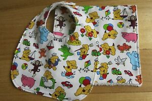 Bib and burp cloth- Spot the dog and friends